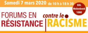 Forums en résistance contre le racisme @ pin Migratie Museum Migration BXL